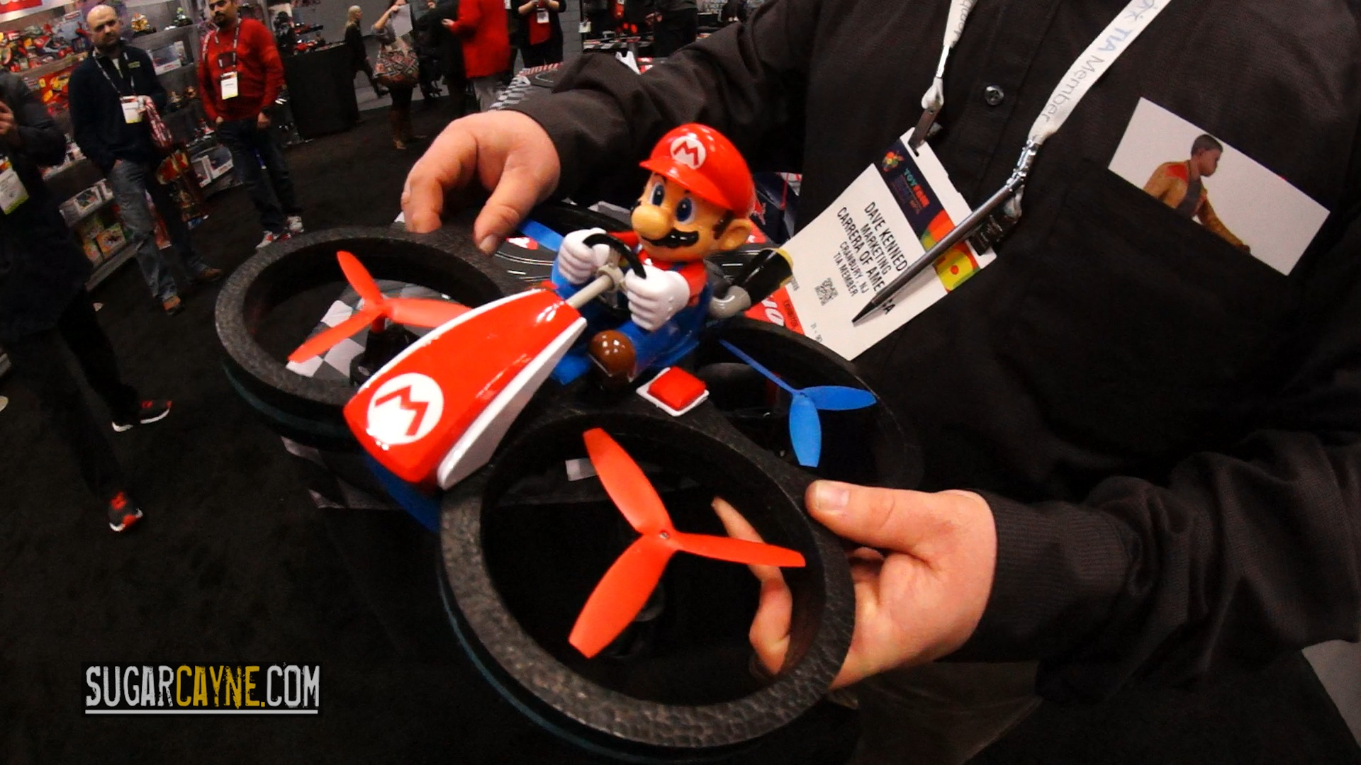 Mario Quadcopter