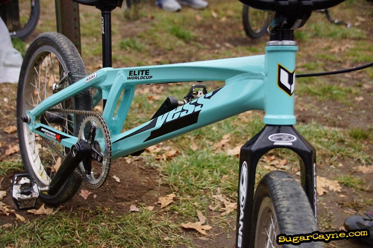 Michael Joseph\'s Yess Elite World Cup XXXL, Bike Check - Sugar Cayne