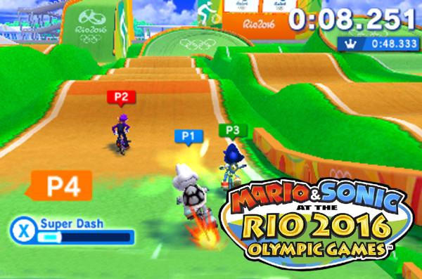 mario sonic rio olympics 2016
