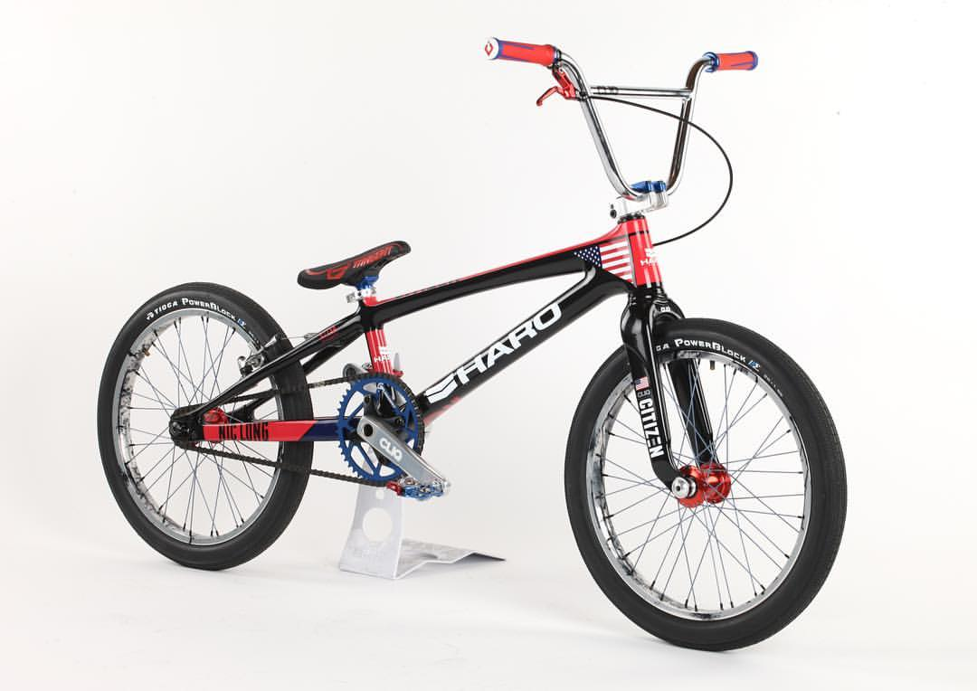 Nic Long custom Olympic BMX Bike