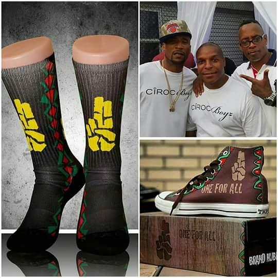 brand nubian sneakers, socks