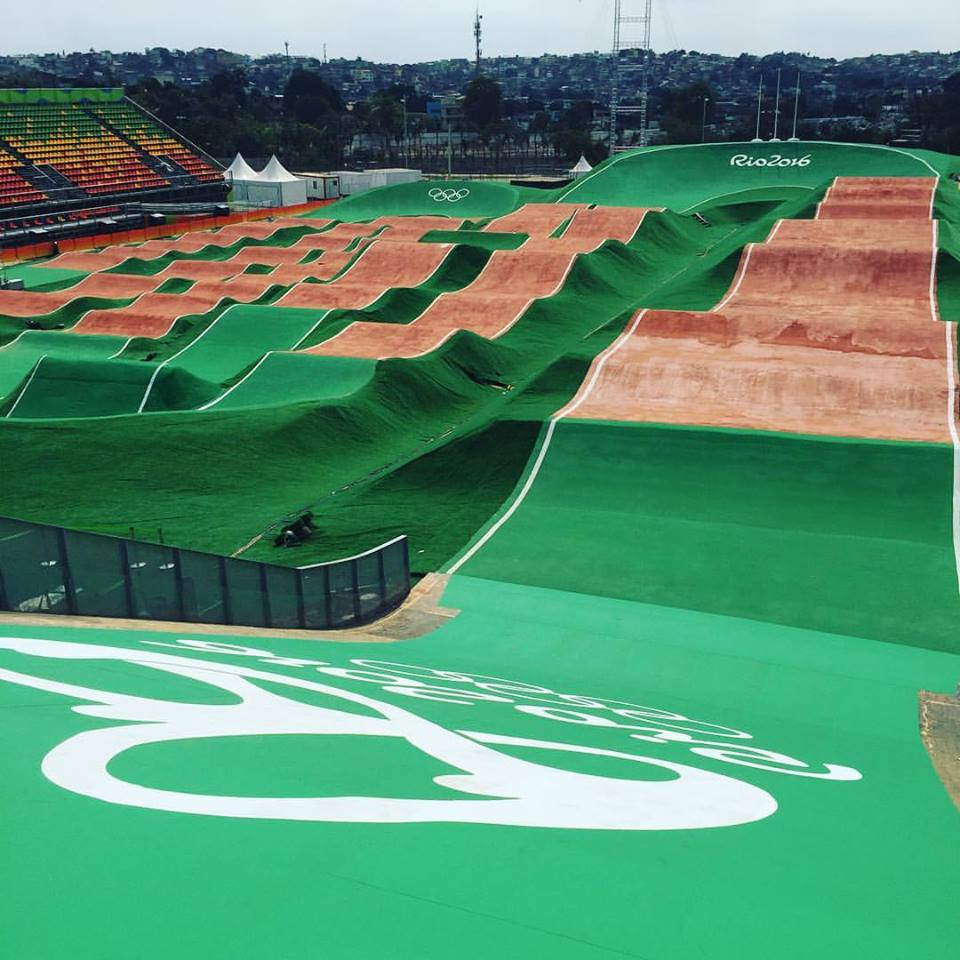Rio Olympic BMX Track