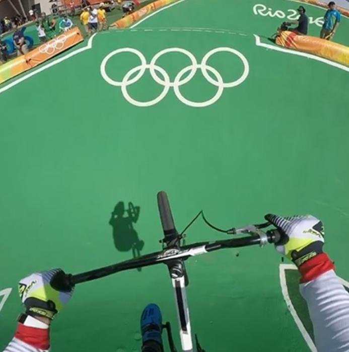 tory BMX Olympic Track POV