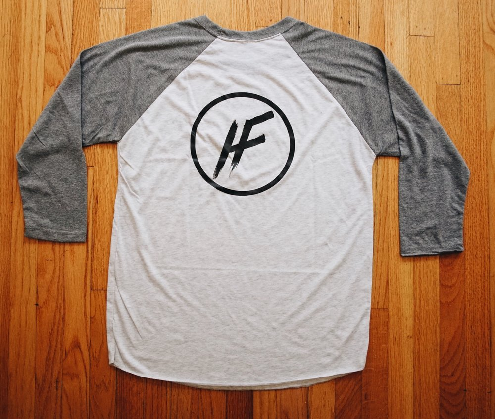 Hicks Films Baseball logo shirt