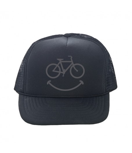 trucker hat smiley dhdwear