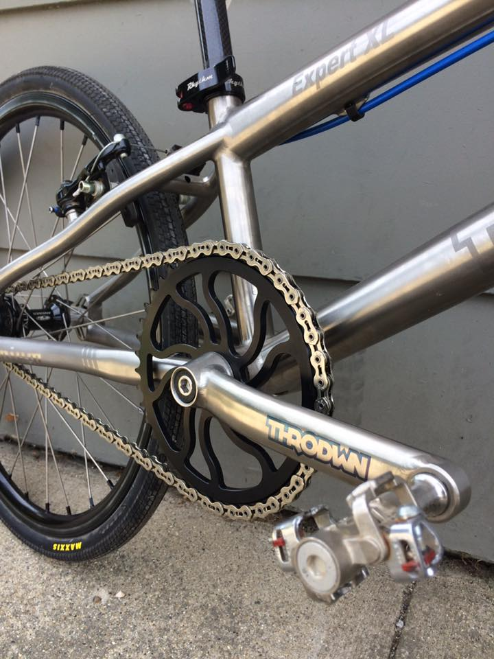 THRODWN Expert XL, Titanium BMX Bike - Sugar Cayne