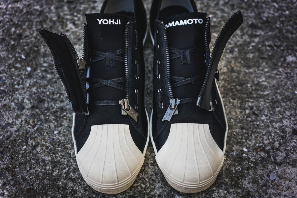 adidas y3 zipper star