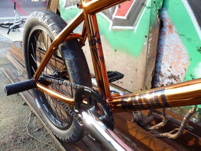 Radio bmx Nemisis copper