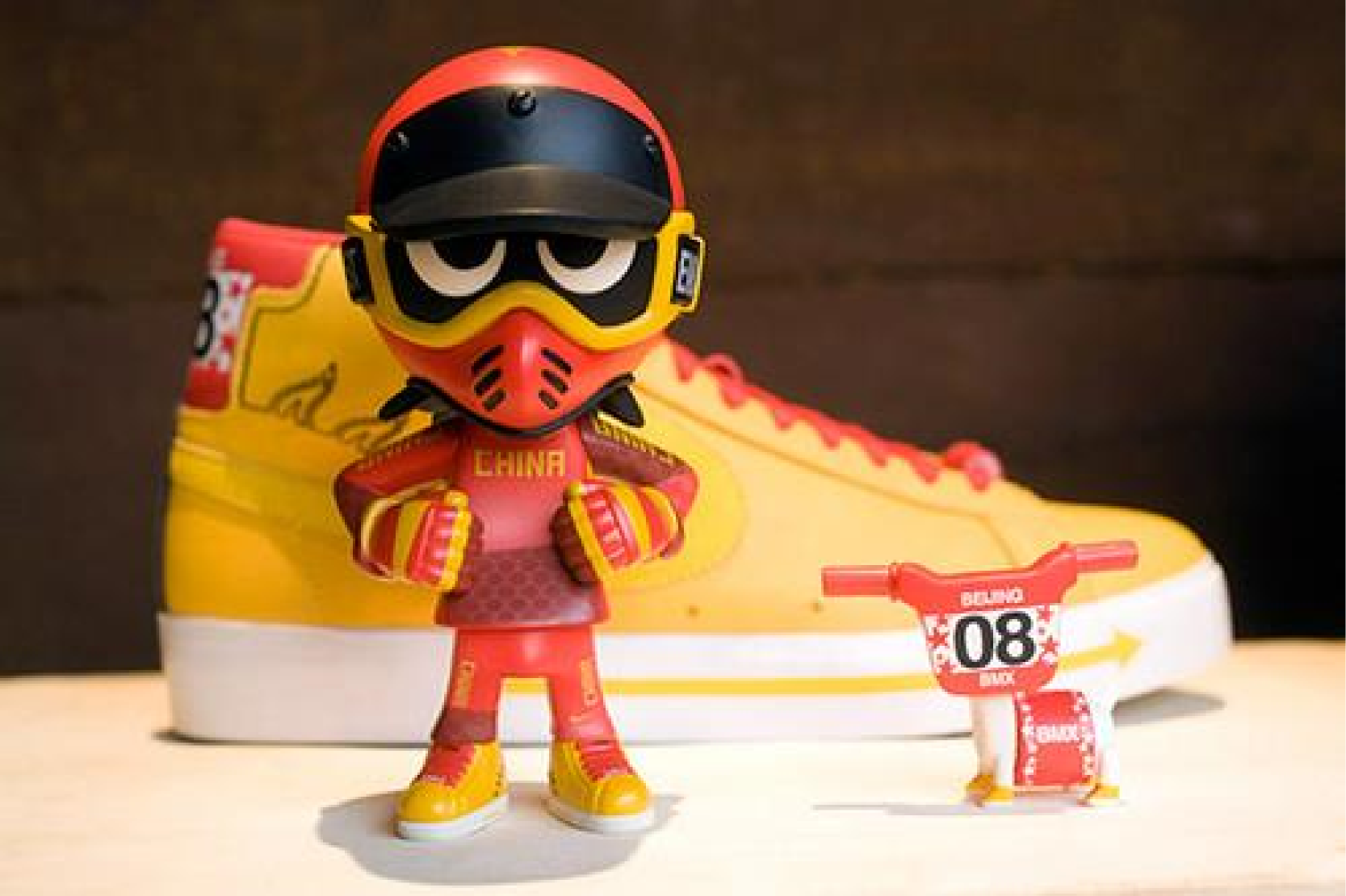 TBT  Michael Lau BMX Inspired Toy And Sneakers - Sugar Cayne 18908b0c1