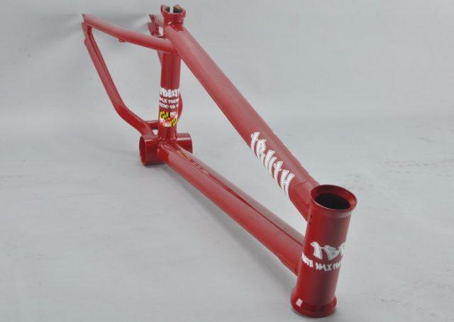 Truth BMX Street Frame red