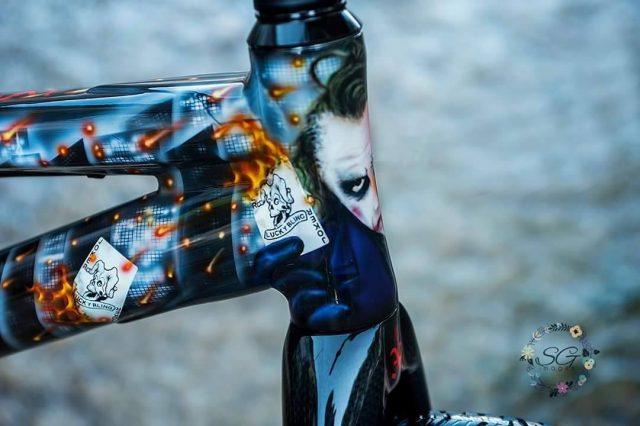 DK Pro Rocket Custom Joker front