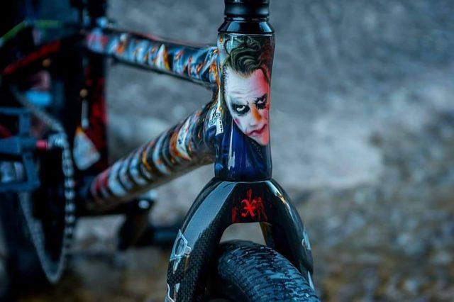 DK Pro Rocket Custom Joker front 2