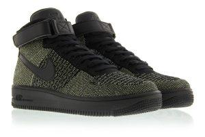 Nike Flyknit Mid Dark Green