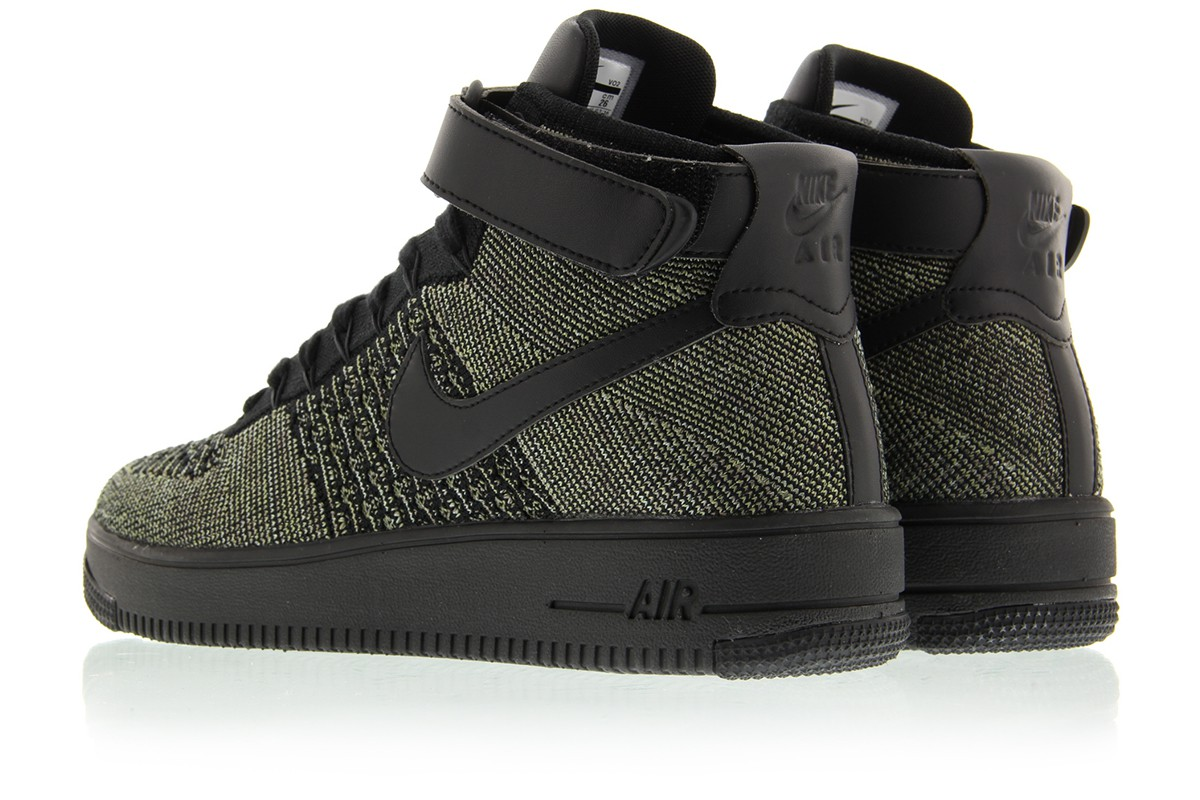dark green nike air force 1