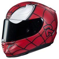 hjc spiderman helmet