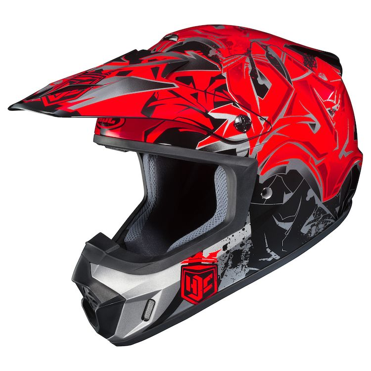 hjc graffed helmet