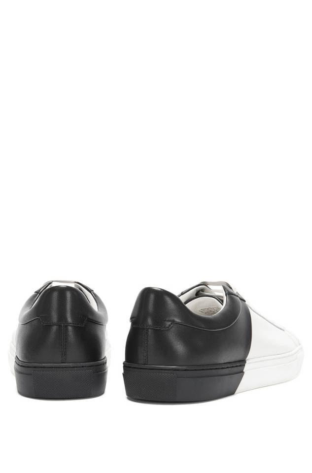 hugo boss timeless tenn sneakers back