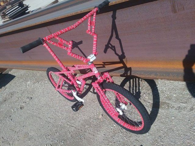 Zagmaster custom bmx bike