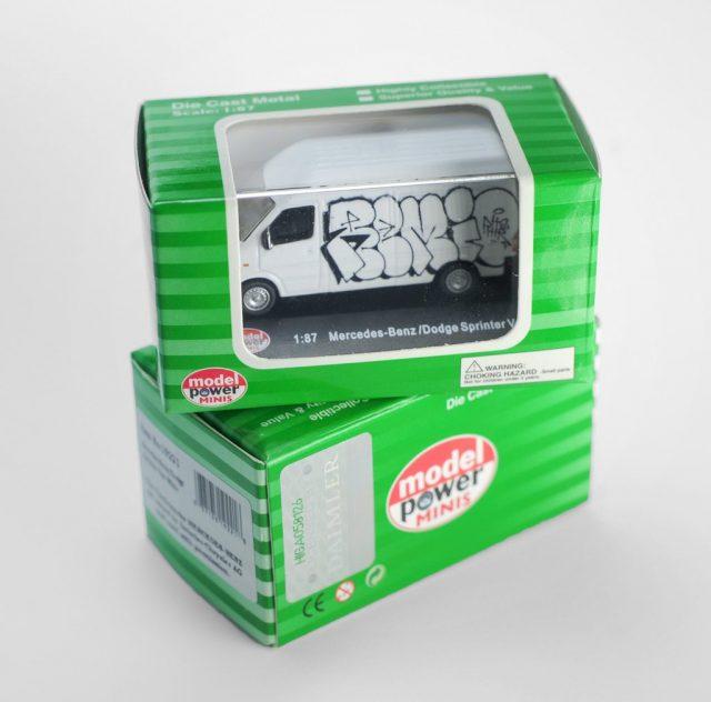 TyoToys Remio Sprinter Van Series 4