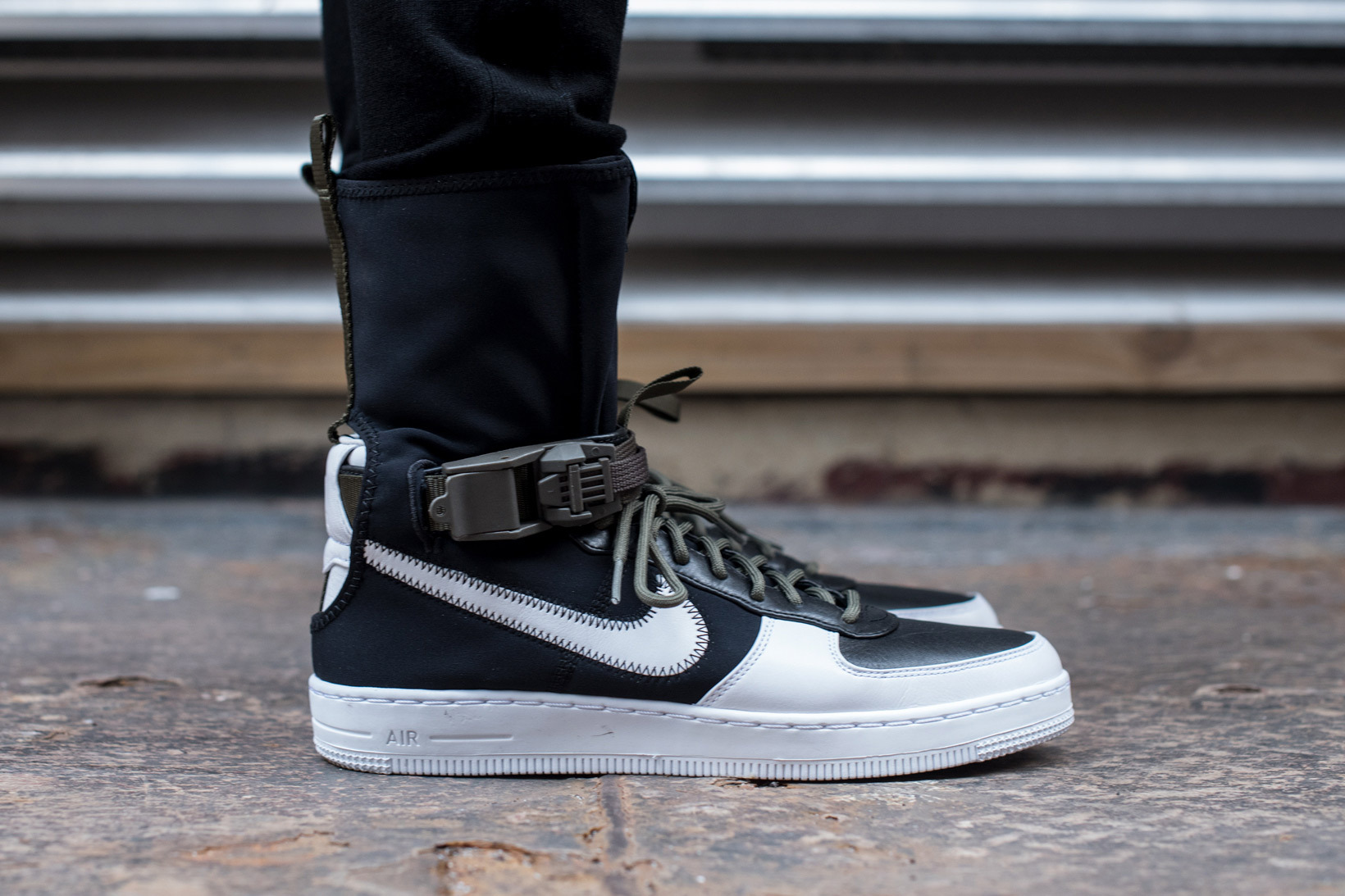 new style 7b6bc c48f9 The collaborative ACRONYM x NikeLab AF1 Downtown Hi launched yesterday at  NikeLabs 21 Mercer location for the first time. ACRONYM online had three  ...