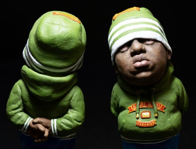 biggie smalls earth green toy 3