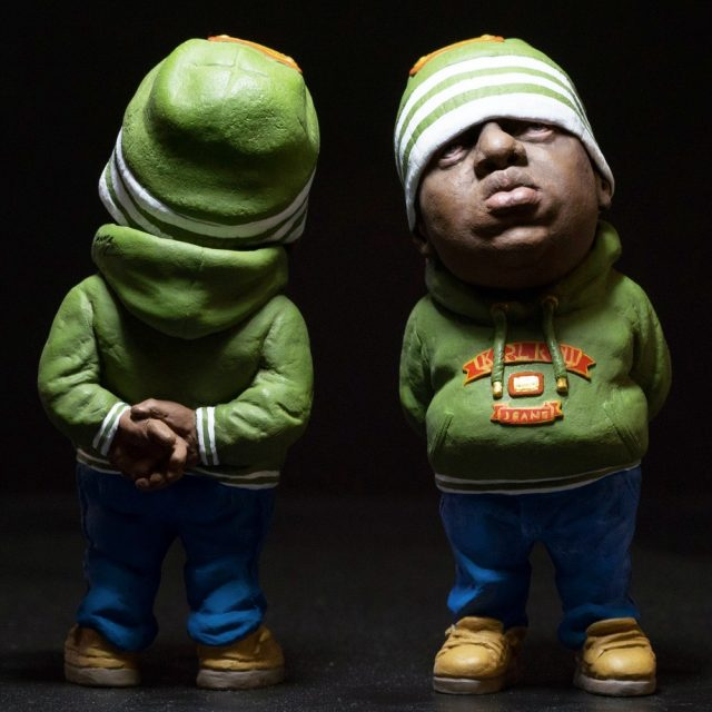 biggie smalls earth green toy 4