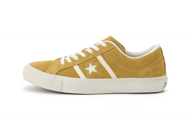 converse-japan-star-bars-suede-classic- mustard yellow