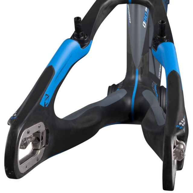 Chase bmx act 1.0 blue rear