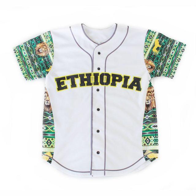 Mizizi Ethiopia baseball jersey