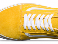 1eeb6db01cbf Vans Old Skool Suede Canvas Yellow   White - Sugar Cayne
