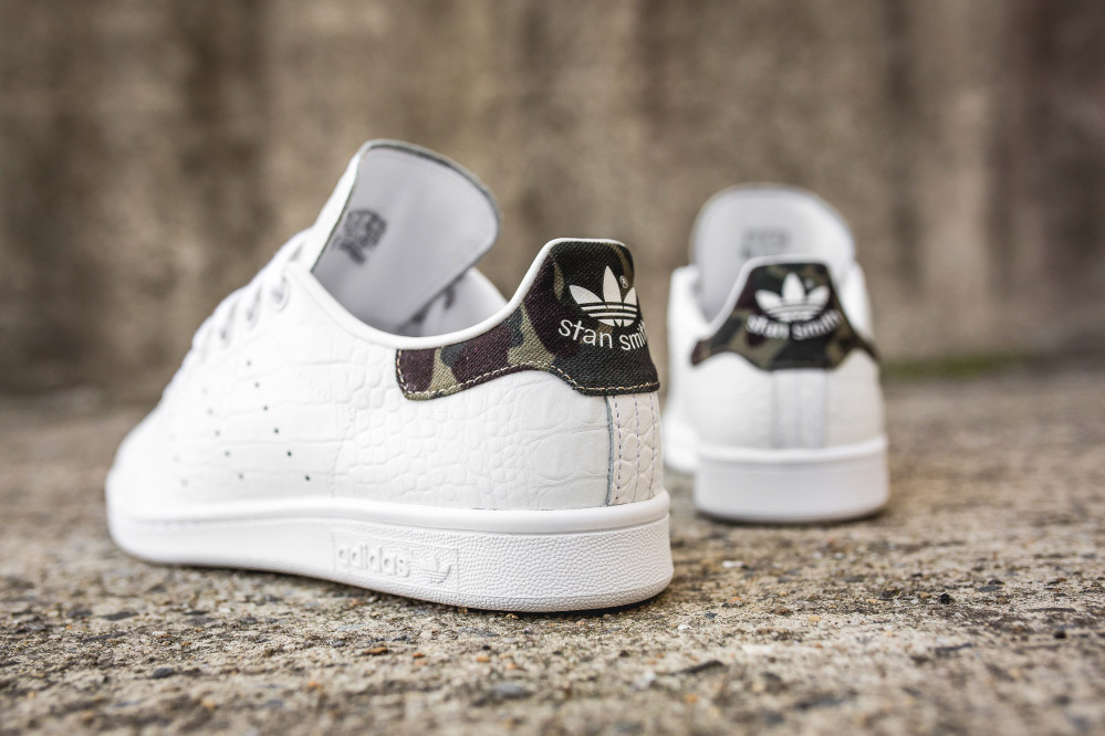 Camo And Croc Combine On This adidas Stan Smith