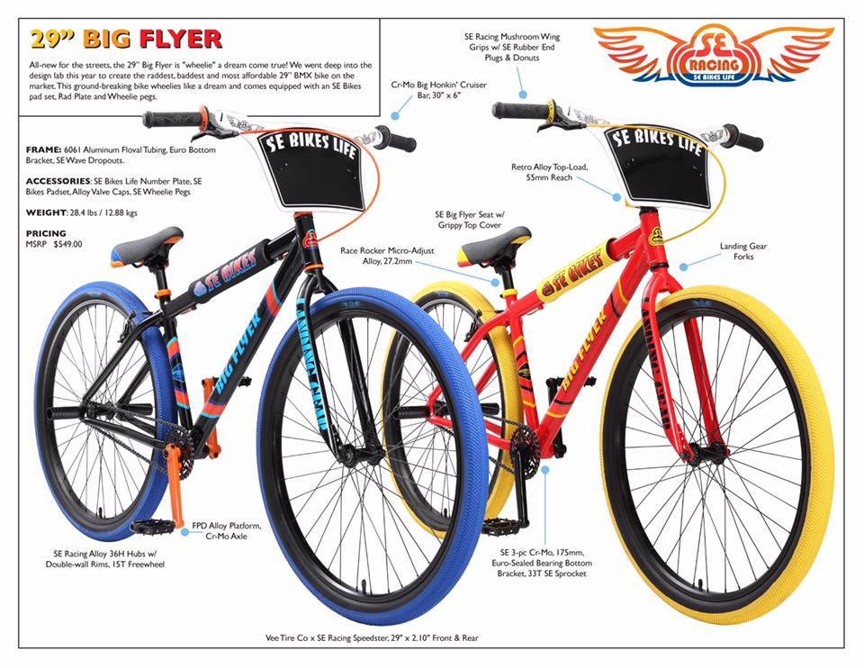 2017 SE Bikes \