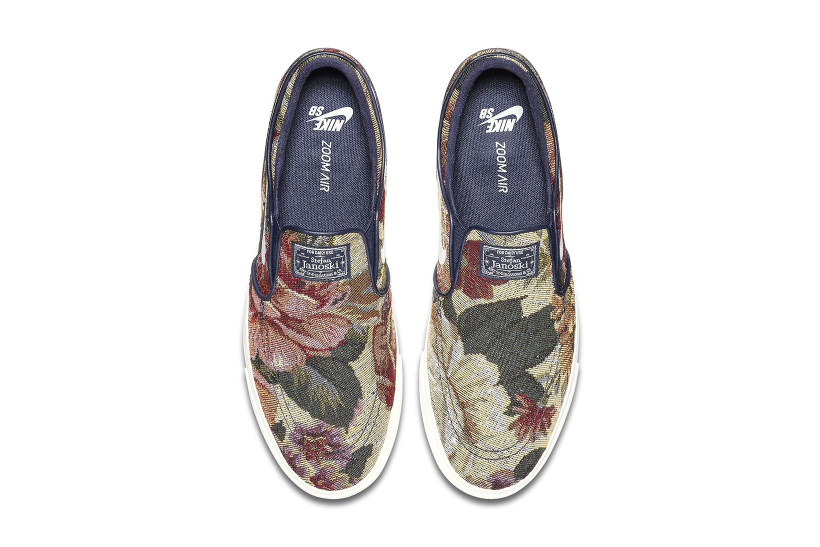 Slip-On Nike SBs Floral 3