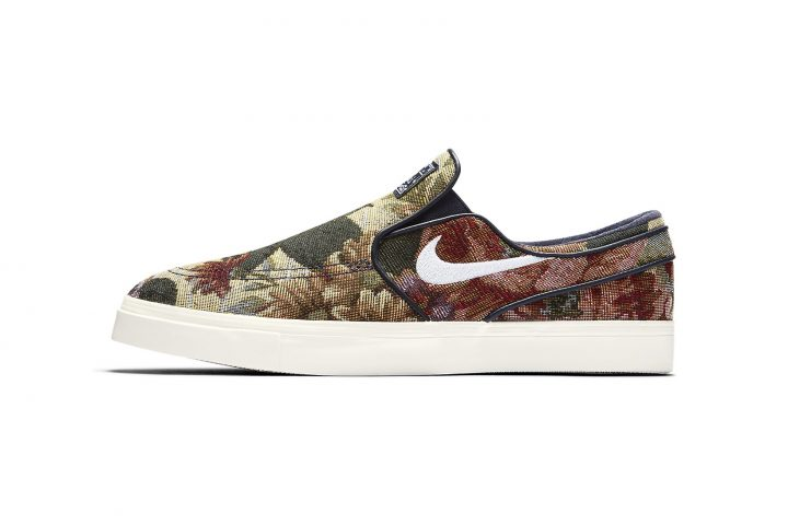 "nike Slip-On Nike SBs ""Tapestry"""
