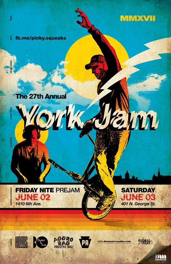 York Jam Flyer