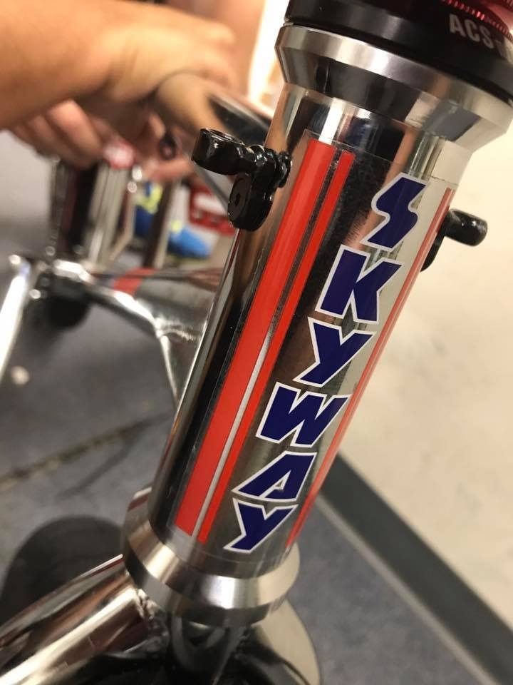 2017 skyway street beat head tube