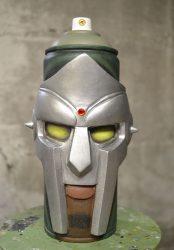 MF Doom, Spray can sculpture