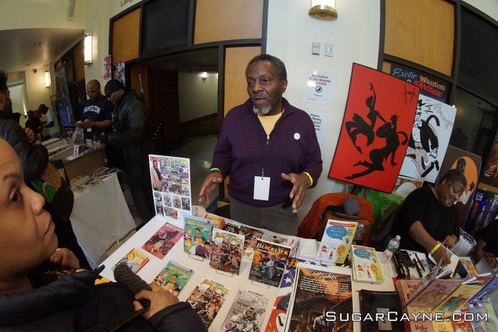 Alex Simmons, Black Comic book fest