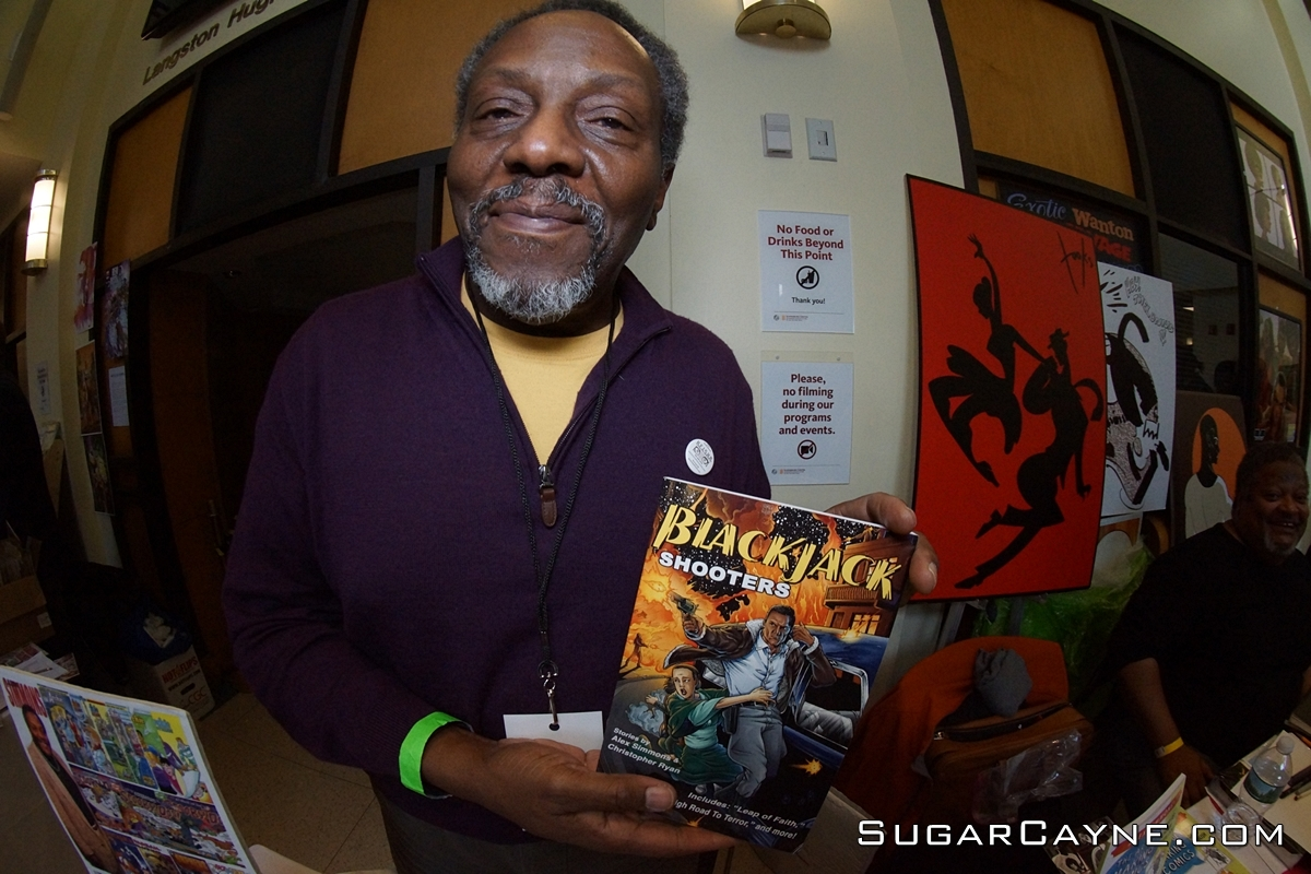 black comic book fest, Alex Simmons