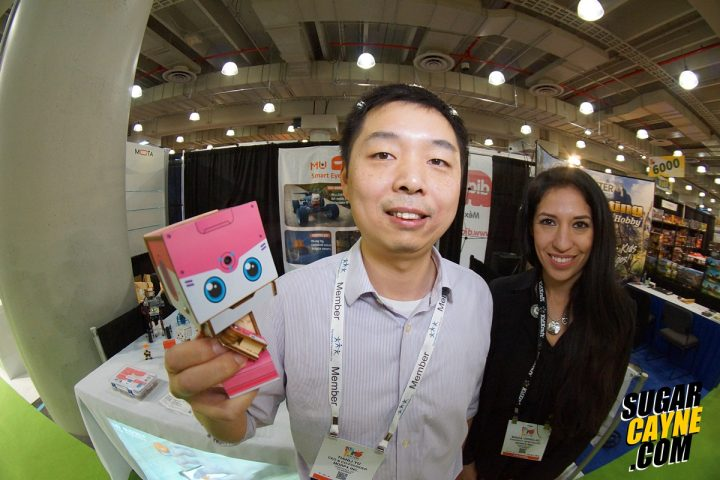 Tianli Yu, mu spacebot