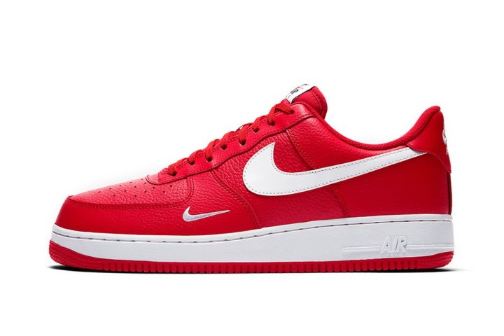 Nike AF1 Mini Swoosh University Red