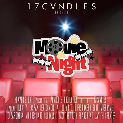 17CVNDLES movie night