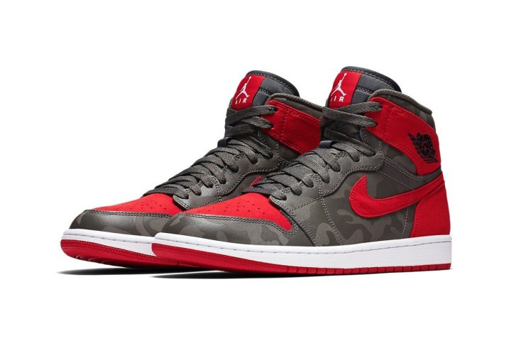 Air Jordan 1 Retro High River Rock set