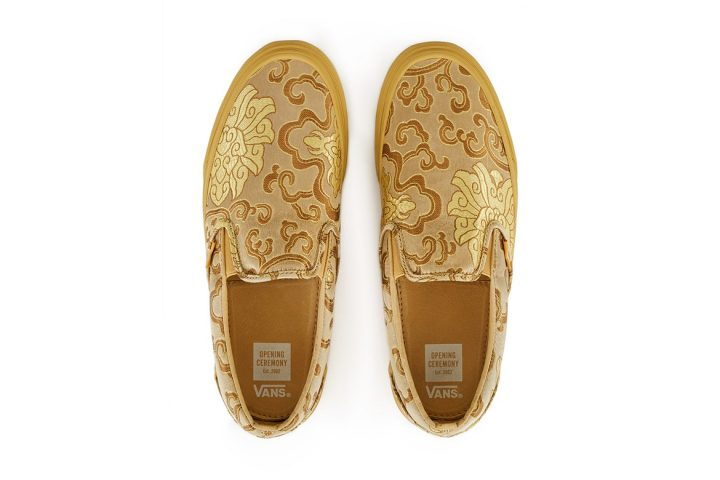 opening ceremony, Qi Pao, vans gold