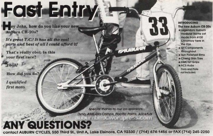 Auburn cycles bmx ad