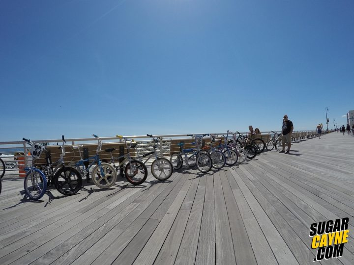 bmx bike boardwalk