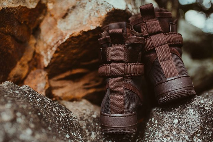 Nike SF-AF1 High velvet brown 3