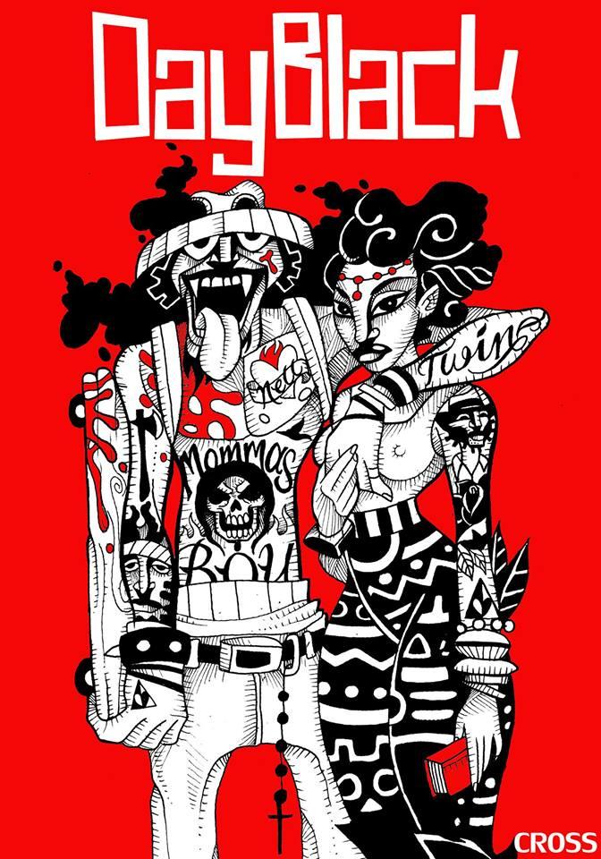 Dayblack vol 2 cover