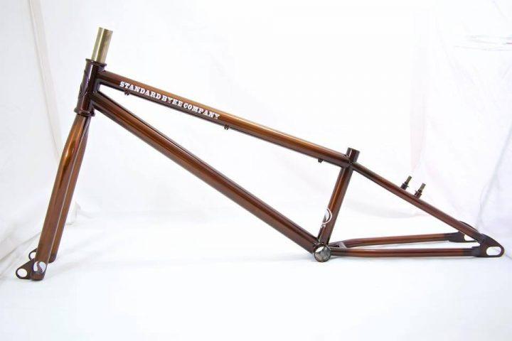 Standard 20mm through axle frame