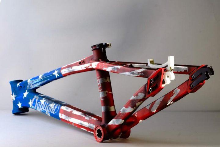 Daylight ArcGlory BMX Racing Frame Rear